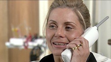 Helena tem muito trabalho na clínica e nega-se a visitar Edu - Alma e Íris visitam Edu