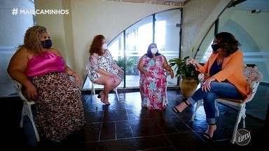 Grupo de mulheres de Araraquara (SP) está quebrando os padrões de beleza - A atriz Mariana Xavier também contou sua experiência em fazer parte das mulheres que lutam pelo amor próprio.