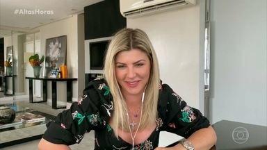 Íris Stefaneli fala todas as profissões que já teve - Ela revê momentos no Altas Horas e convidados contam se topariam entrar no BBB