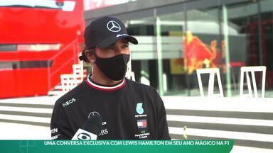 Uma conversa exclusiva com Lewis Hamilton em seu ano mágico na Fórmula 1 - Uma conversa exclusiva com Lewis Hamilton em seu ano mágico na Fórmula 1