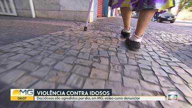 Minas Gerais registrou quase 3 mil casos de violência contra idosos, em 2020 - Por dia, dez idosos foram agredidos. Saiba como denunciar.