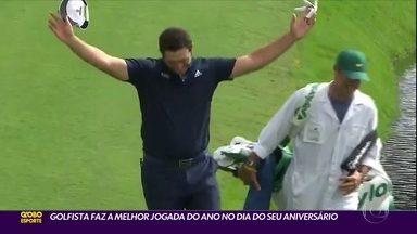 Golfista espanhol faz a melhor jogada do ano no dia do seu aniversário - Golfista espanhol faz a melhor jogada do ano no dia do seu aniversário