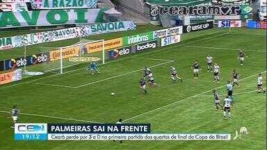 Os gols de Palmeiras e Ceará pela Copa do Brasil - Saiba mais no g1.com.br/ce