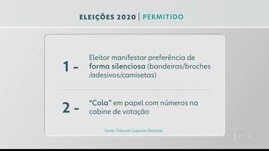 BDSP mostra o que o eleitor pode, e o que não pode fazer no dia da eleição - Celular está proibido, mas eleitor pode levar uma colinha de papel com o número dos candidatos.