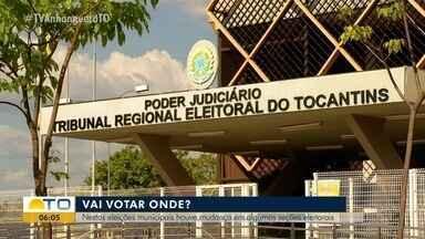 Palmas tem mais de 30 seções eleitorais com novo local; mudanças acontecem em todo Estado - Palmas tem mais de 30 seções eleitorais com novo local; mudanças acontecem em todo Estado