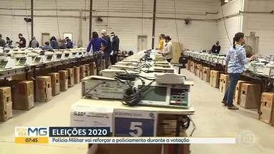 Eleições 2020: Polícia Militar vai reforçar o policiamento durante a votação - Saiba como vai ser o esquema de segurança.