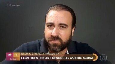 Saiba como denunciar o assédio moral no trabalho - O advogado Renato Santos explica o que configura o assédio moral e dá dicas de como denunciar o desrespeito no ambiente de trabalho