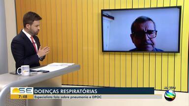 Especialista fala sobre doenças respiratórias - Especialista fala sobre doenças respiratórias.