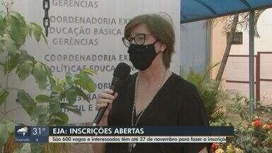 Educação de Jovens e Adultos abre inscrições para 600 vagas em Araraquara - Interessados devem se inscrever até o dia 27 de novembro.