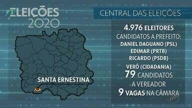 Conheça o cenário eleitoral de Santa Ernestina e mais 4 cidades - Veja também quem são os candidatos de Santa Rosa de Viterbo, Santo Antônio da Alegria, São Joaquim da Barra e São José da Bela Vista.
