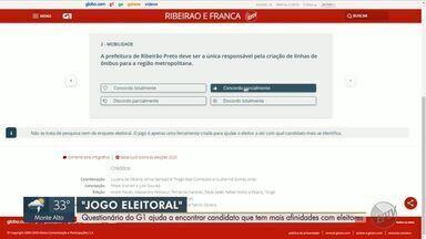 G1 ajuda a encontrar candidato que tem mais afinidades com eleitores - Jogo Eleitoral permite que internauta compare ideias de políticos para diferentes temas.