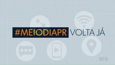 Telespectadores chamam o intervalo do Meio-Dia Paraná desta quinta-feira (12) - Envie o seu vídeo para (42) 99974-0062.