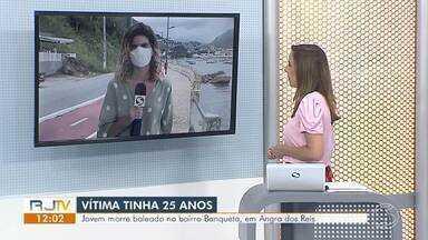 Jovem morre baleado no bairro Banqueta, em Angra dos Reis - Geovane Nunes Braga, de 25 anos, chegou a ser socorrido para o Hospital Geral da Japuíba, mas não resistiu aos ferimentos. Ninguém foi preso, diz PM.