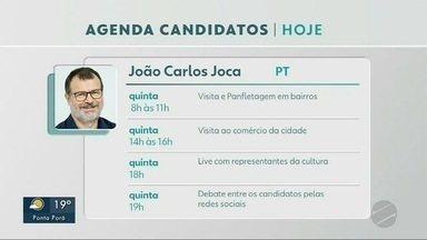 Confira a agenda dos candidatos a prefeito de Dourados nesta quinta-feira (12) - Confira a agenda dos candidatos a prefeito de Dourados nesta quinta-feira (12)