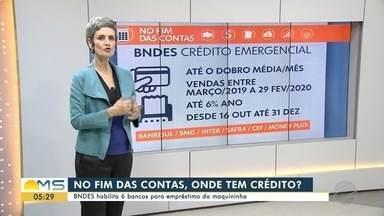 BNDES habilita 6 bancos para empréstimo da maquininha - BNDES habilita 6 bancos para empréstimo da maquininha