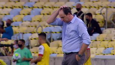 Flamengo empata com Atlético-GO e cai para a quarta posição no Brasileirão - Flamengo empata com Atlético-GO e cai para a quarta posição no Brasileirão