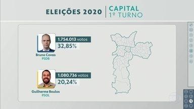SP2 - Edição de segunda-feira, 16/11/2020 - Campanha para o segundo turno está liberada nas ruas da capital. Veja como fica a nova composição da Câmara Municipal de São Paulo.