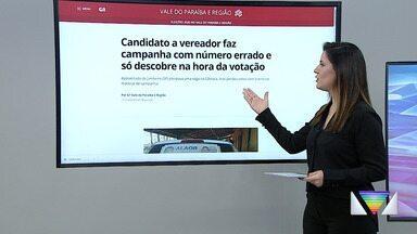 Destaque do G1: Candidato a vereador faz campanha com o número errado - Confira mais informações no G1 da Vanguarda.