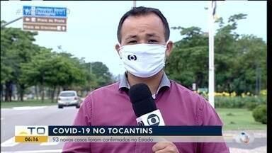 Tocantins registra mais de 90 novos casos da Covid-19 - Tocantins registra mais de 90 novos casos da Covid-19