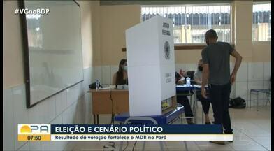 Resultado da votação fortalece o partido MDB no Pará - Resultado da votação fortalece o partido MDB no Pará.