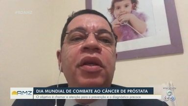 Médico urologista do AM chama atenção para prevenção do câncer de próstata - Médico tira dúvidas sobre a saúde do homem.