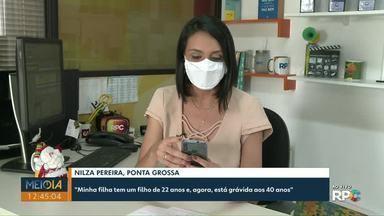 Telespectadores participam do Meio-Dia Paraná desta terça-feira (17) com mensagens - Envie a sua participação para (42) 99974-0062 ou pelo app Você na RPC.