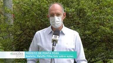 Veja entrevista com Helio Peluffo do PSDB, prefeito reeleito de Ponta Porã - Veja entrevista com Helio Peluffo do PSDB, prefeito reeleito de Ponta Porã