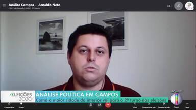 Arnaldo Neto analisa o cenário político que se desenhou em Campos, no RJ - Ele é jornalista e editor de Política do Grupo Folha da Manhã em Campos.