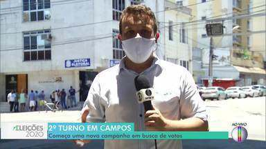 Wladimir Garotinho e Caio Vianna se enfrentam no 2º turno em Campos, no RJ - Nova campanha começa no município.