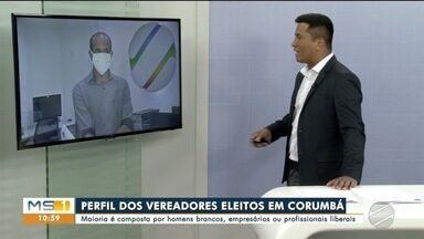 Conheça o perfil dos vereadores eleitos em Corumbá - Maioria é homem, branco e trabalha como empresário ou profissional liberal