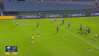 Brasil vence o Uruguai por 2 a 0 pelas eliminatórias da Copa do Mundo de Futebol - Jogo teve gols de Arthur e Richarlison.