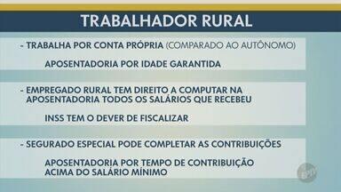 'Pode Perguntar': confira as regras para a aposentadoria de trabalhadores rurais - Trabalhador rural tem regras diferentes e algumas vantagens na hora de se aposentar.
