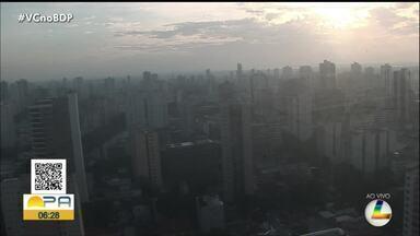 Confira a previsão do tempo em Belém e interior do Pará nesta quarta, 18 - Confira a previsão do tempo em Belém e interior do Pará nesta quarta, 18.