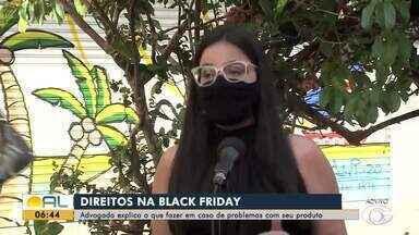 Advogada explica o que fazer em caso de problemas com produtos comprados na black friday - Gabriela Holanda dá as dicas.