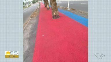 Prefeitura da Serra avalia que árvores podem ser mantidas em ciclovia da cidade - Veja a seguir.