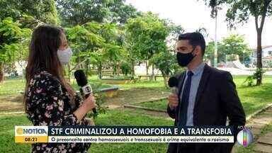 STF criminaliza homofobia e transfobia - O preconceito contra homossexuais e transsexuais é crime equivalente ao racismo.