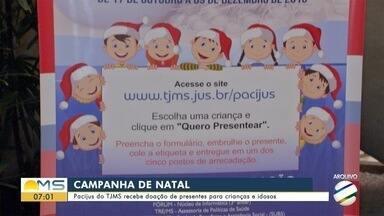 Pacijus do TJMS recebe doação de presentes para crianças e idosos - Pacijus do TJMS recebe doação de presentes para crianças e idosos
