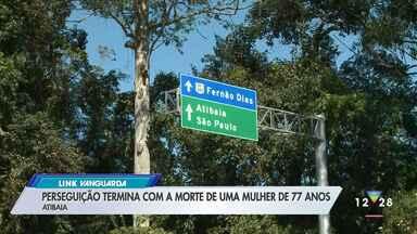 Perseguição termina com morte de uma mulher de 77 anos em Atibaia - Confira as informações.