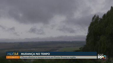 Veja como fica a previsão do tempo para os Campos Gerais nesta quinta-feira (19) - Quinta-feira vai ser chuva em toda a reunião.