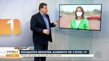 Dourados registra aumento nos casos de Covid-19 - MS1