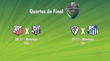 Federação define datas e horários dos jogos das quartas de final do Estadual - Competição entra na reta final com quatro confrontos regionais