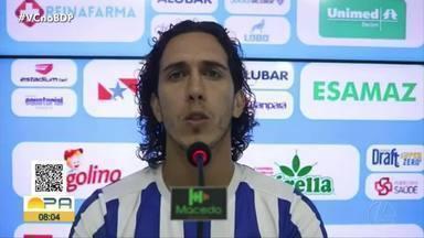 Nicolas volta a marcar e fala do momento bicolor na Série C. Ferreira comenta: - Nicolas volta a marcar e fala do momento bicolor na Série C. Ferreira comenta: