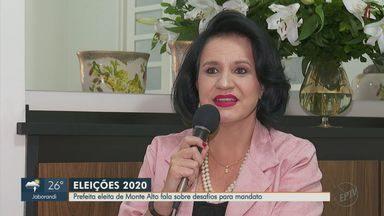 Eleição 2020: prefeita eleita de Monte Alto fala sobre desafios para mandato - Maria Helena Rettondini, do PTB, foi eleita com 35% dos votos válidos.