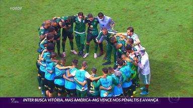 Palmeiras, Grêmio e América-MG avançam na Copa do Brasil - Palmeiras, Grêmio e América-MG avançam na Copa do Brasil