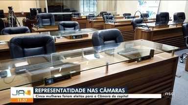 Número de representatividade feminina aumenta na Câmara de Florianópolis - Número de representatividade feminina aumenta na Câmara de Florianópolis