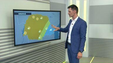 O tempo fica firme na região oeste nesta sexta-feira - Áreas de instabilidade deixaram a região e até o fim de semana não há previsão de chuva.