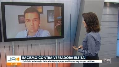 Ânderson Silva fala sobre episódio de racismo contra vereadora eleita de Joinville - Ânderson Silva fala sobre episódio de racismo contra vereadora eleita de Joinville