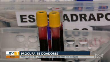 Hemonúcleo de Caxias registra queda de 40% nas doações - Tem sido um desafio manter o estoque de sangue no Hemonúcleo em Caxias.