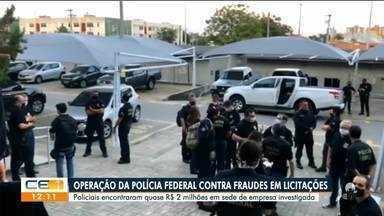 Operação da Polícia Federal investiga fraudes em licitações - Saiba mais no g1.com.br/ce