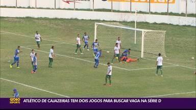 """Atlético-PB de Cajazeiras tem duas """"finais"""" em busca da vaga no mata-mata da Série D - Trovão Azul tenta terminar a fase de classificação dentro do G-4 do Grupo 3"""